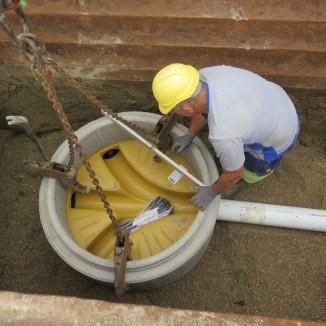 Fast jede Woche entsteht ein neuer Abwasserkanal